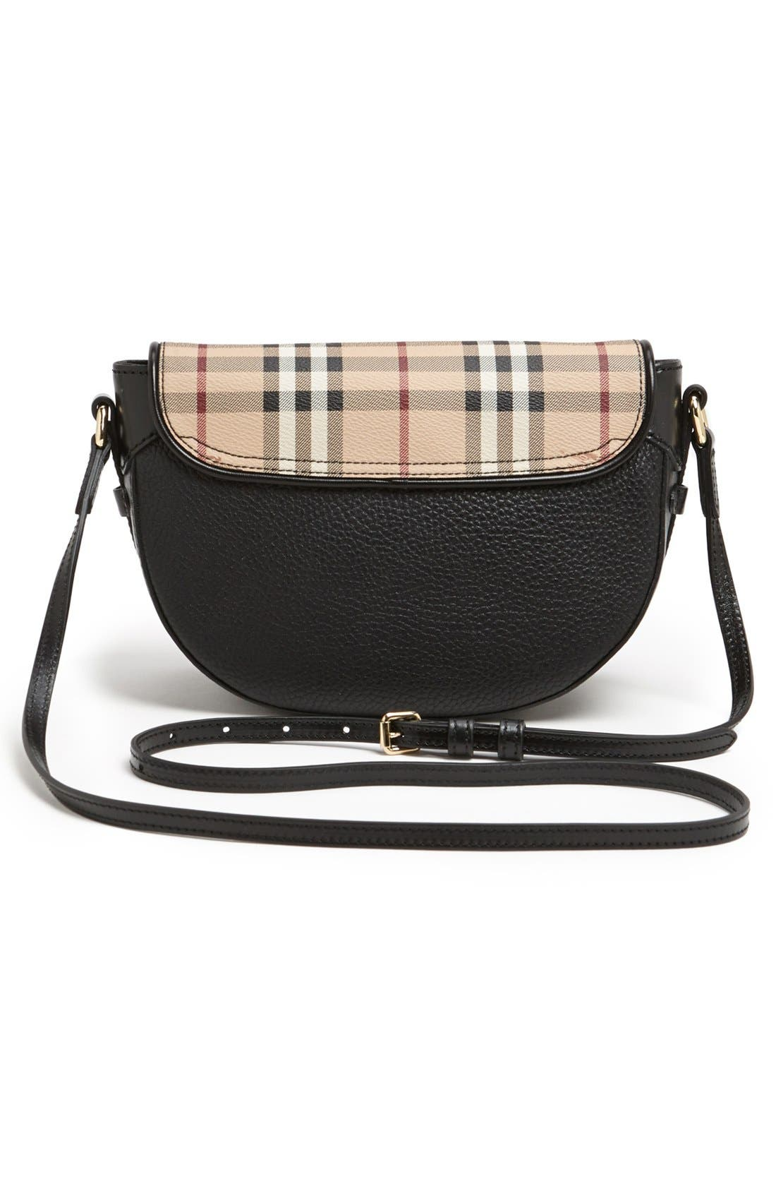 Alternate Image 4  - Burberry 'Small Maydown' Leather Crossbody Bag
