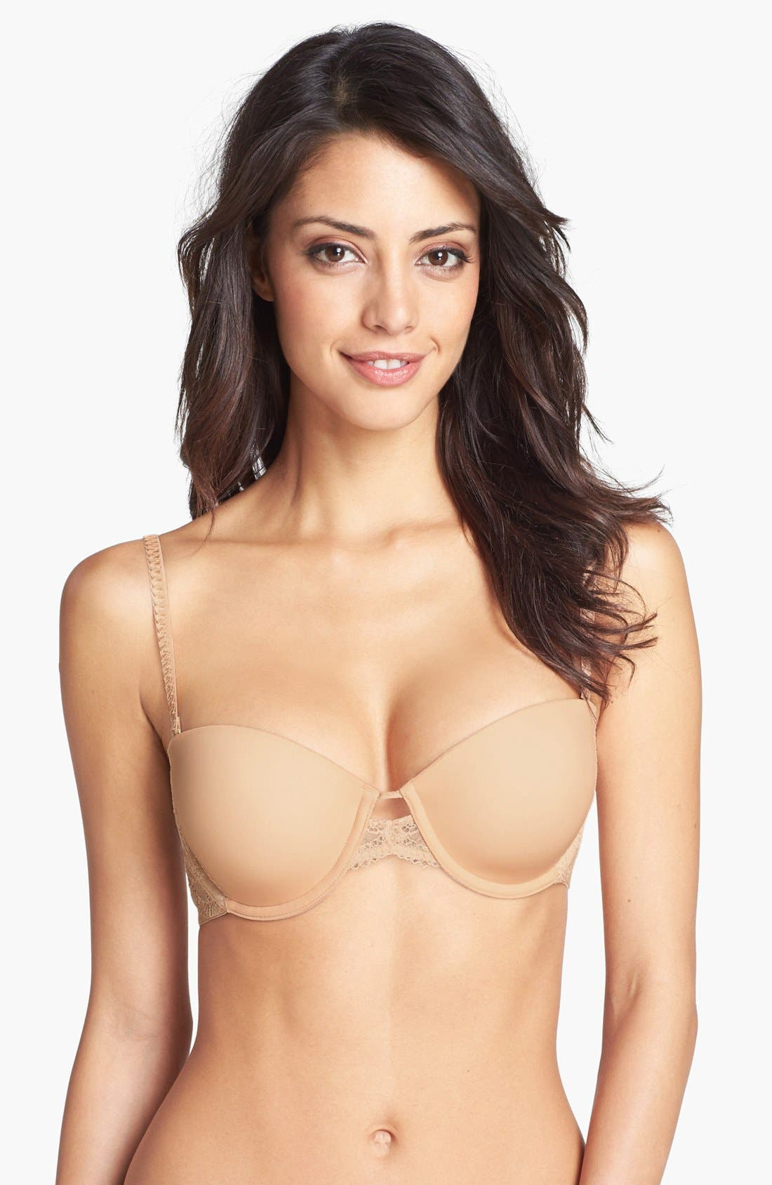 Main Image - DKNY 'Seductive Lights' Convertible Padded Underwire Bra