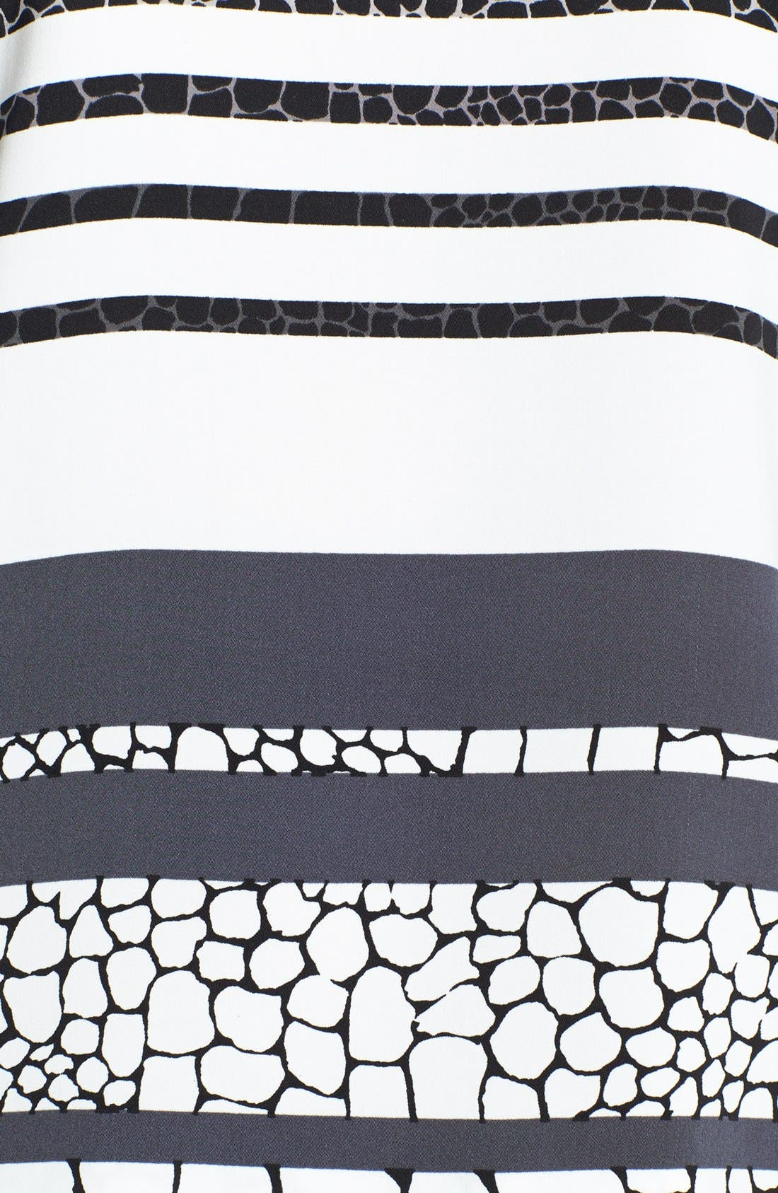 Alternate Image 3  - Halogen® Colorblock Short Sleeve Blouse