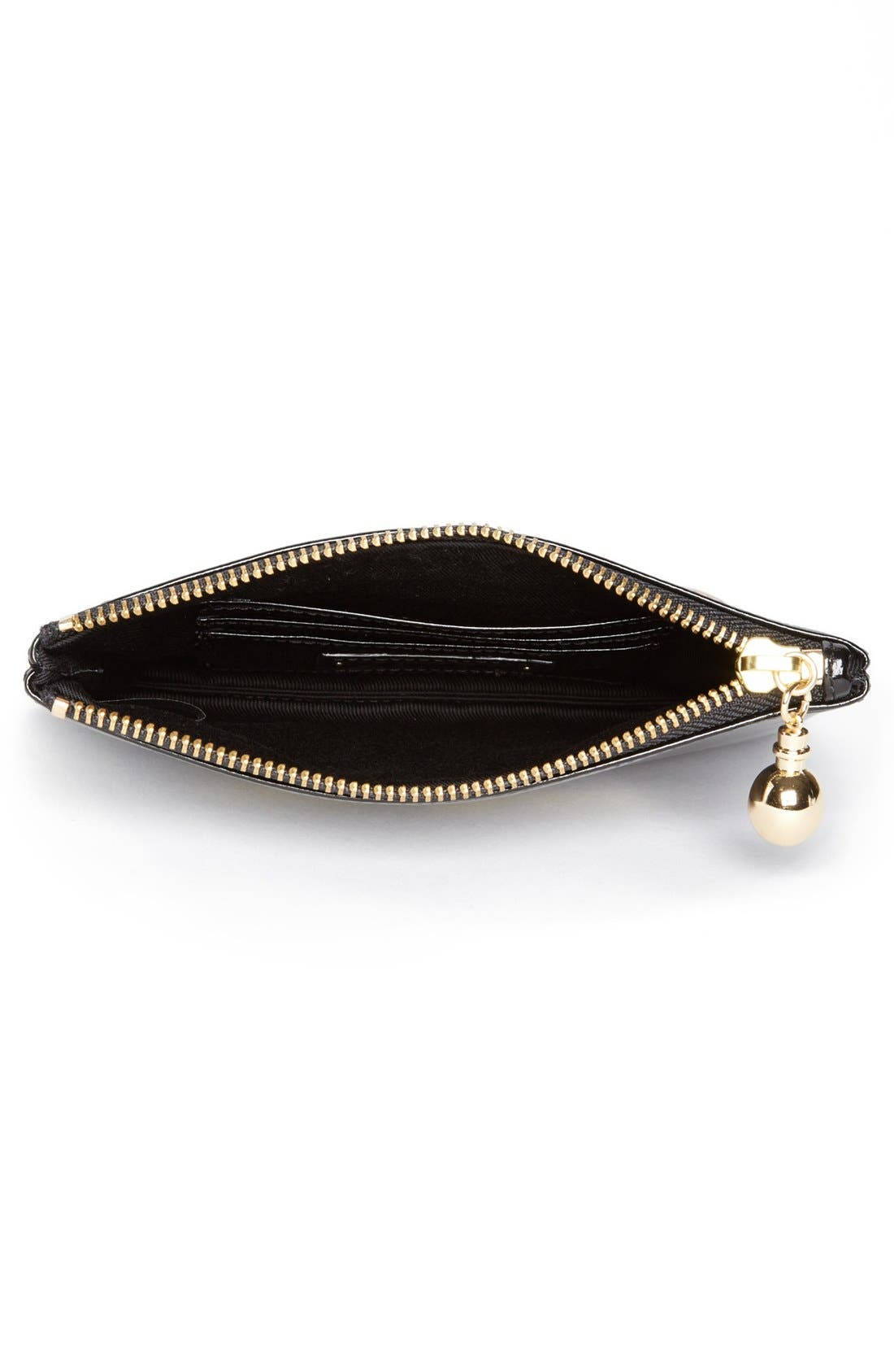 Alternate Image 2  - Halogen® Patent Leather Clutch