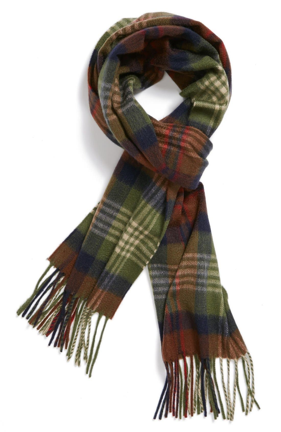 Alternate Image 1 Selected - Andrew Stewart 'Braeside' Cashmere Scarf