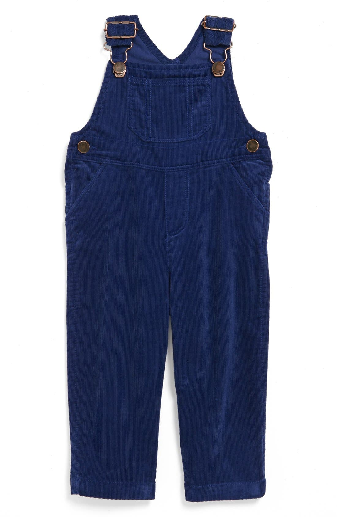 Alternate Image 1 Selected - Nordstrom Baby Corduroy Overalls (Baby Boys)