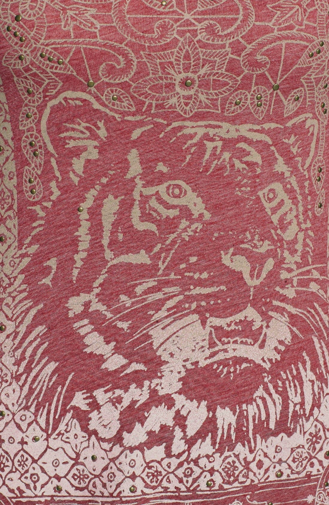 Alternate Image 3  - Lucky Brand Indian Tiger Tee