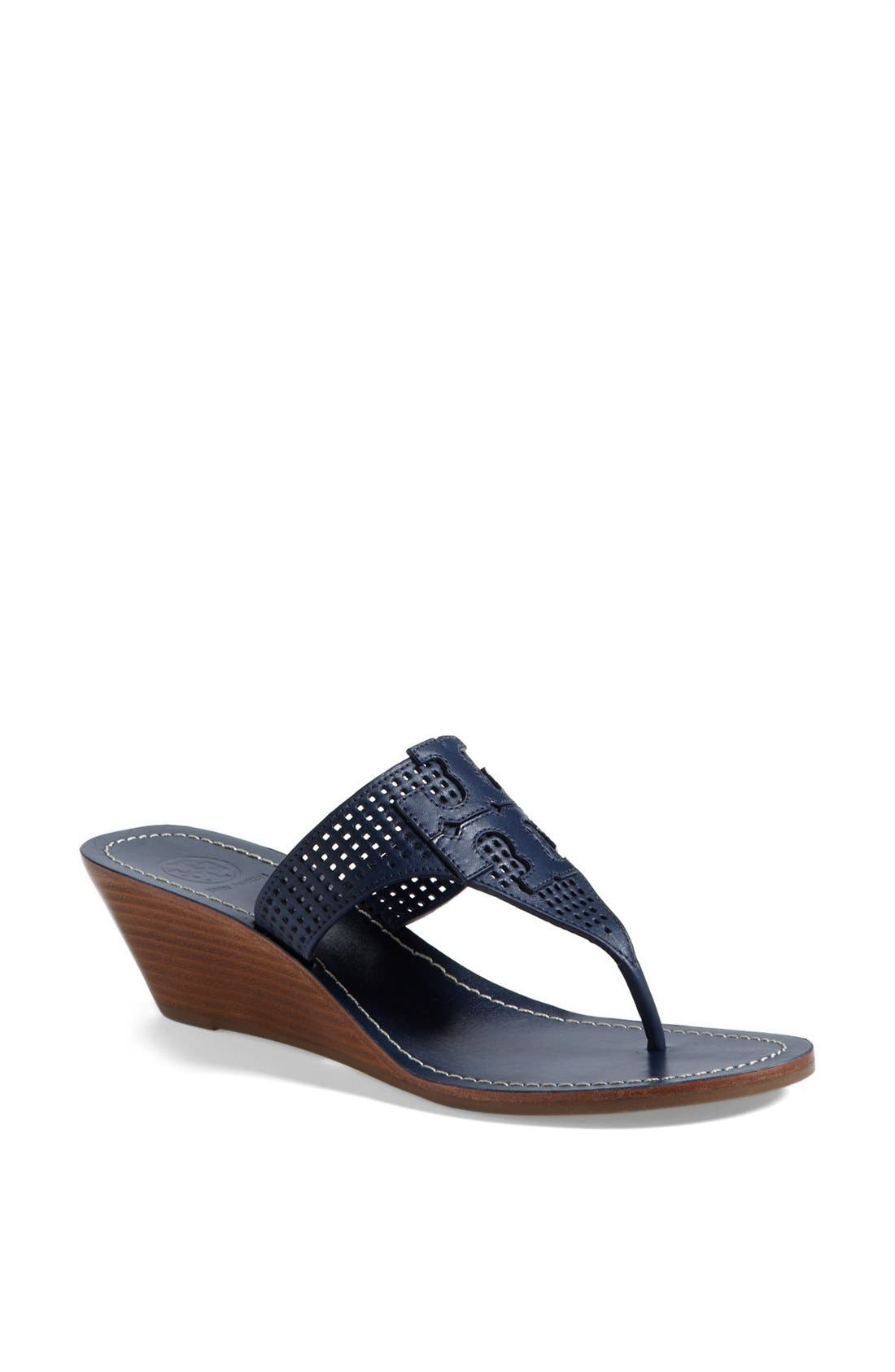 Alternate Image 1 Selected - Tory Burch 'Mcfee' Wedge Sandal (Online Only)