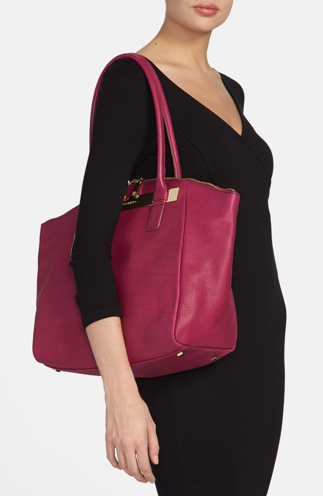 Alternate Image 2  - Vince Camuto 'Jace' Leather Tote