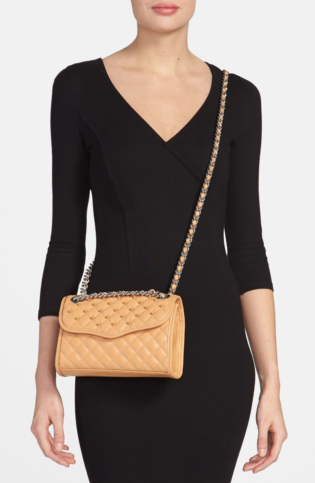 Alternate Image 2  - Rebecca Minkoff 'Affair - Mini' Quilted Convertible Crossbody Bag
