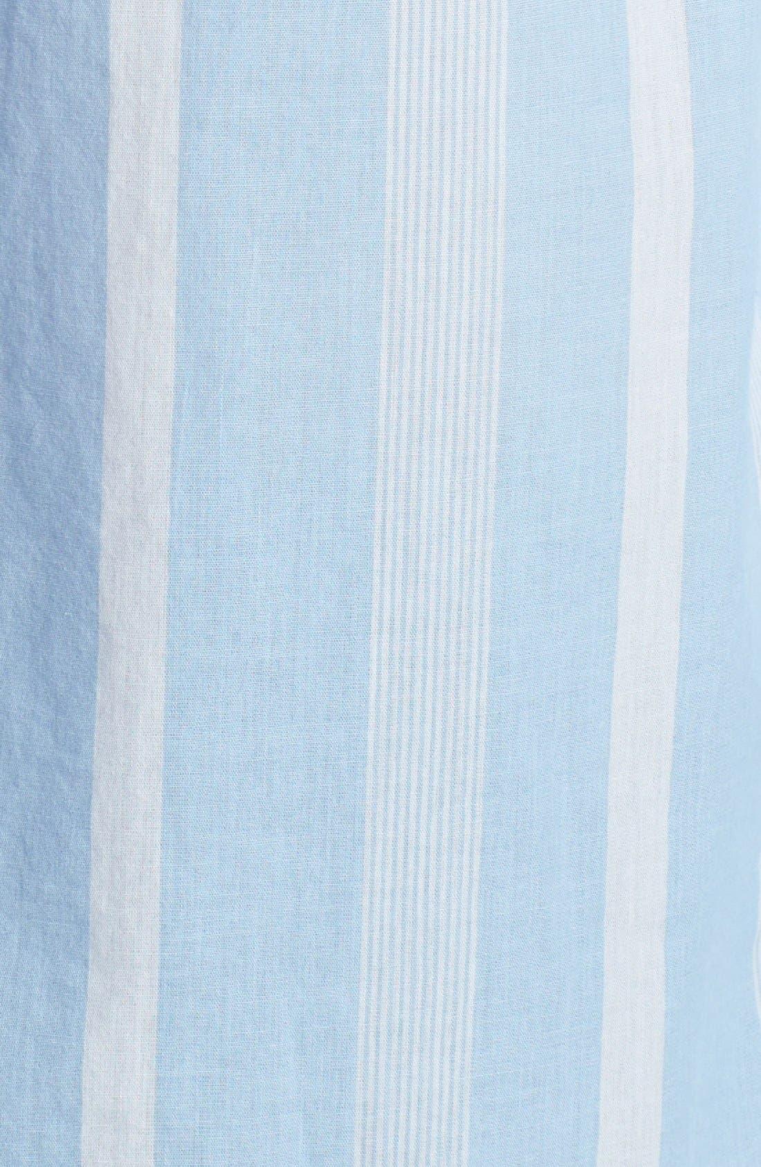 Alternate Image 3  - Equipment 'Margaux' Stripe Cotton Shirt
