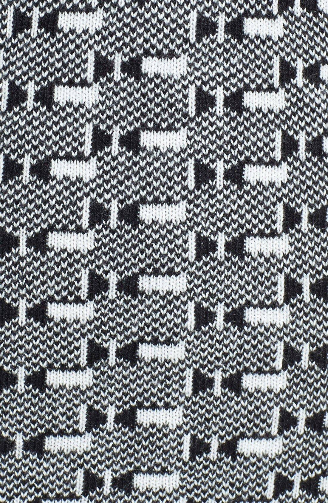 Alternate Image 3  - Dex Colorblock Geometric Jacquard Sweater Dress