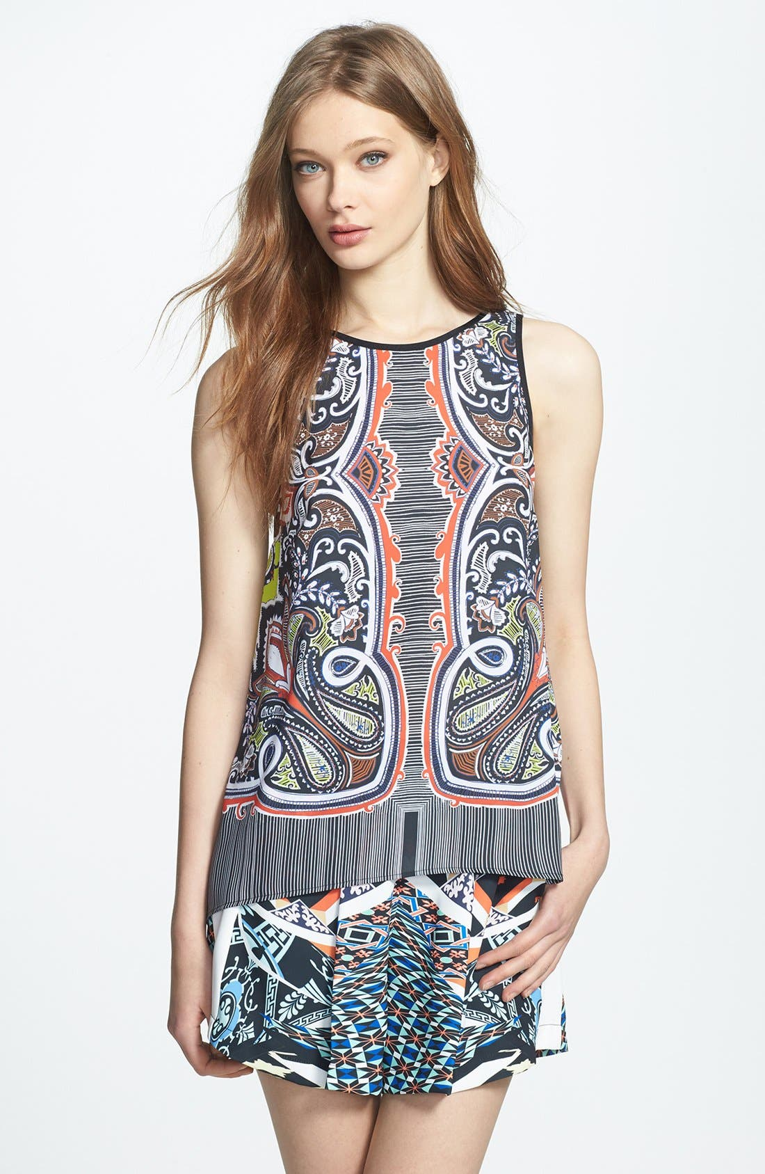 Main Image - Clover Canyon 'Havana' Print Top