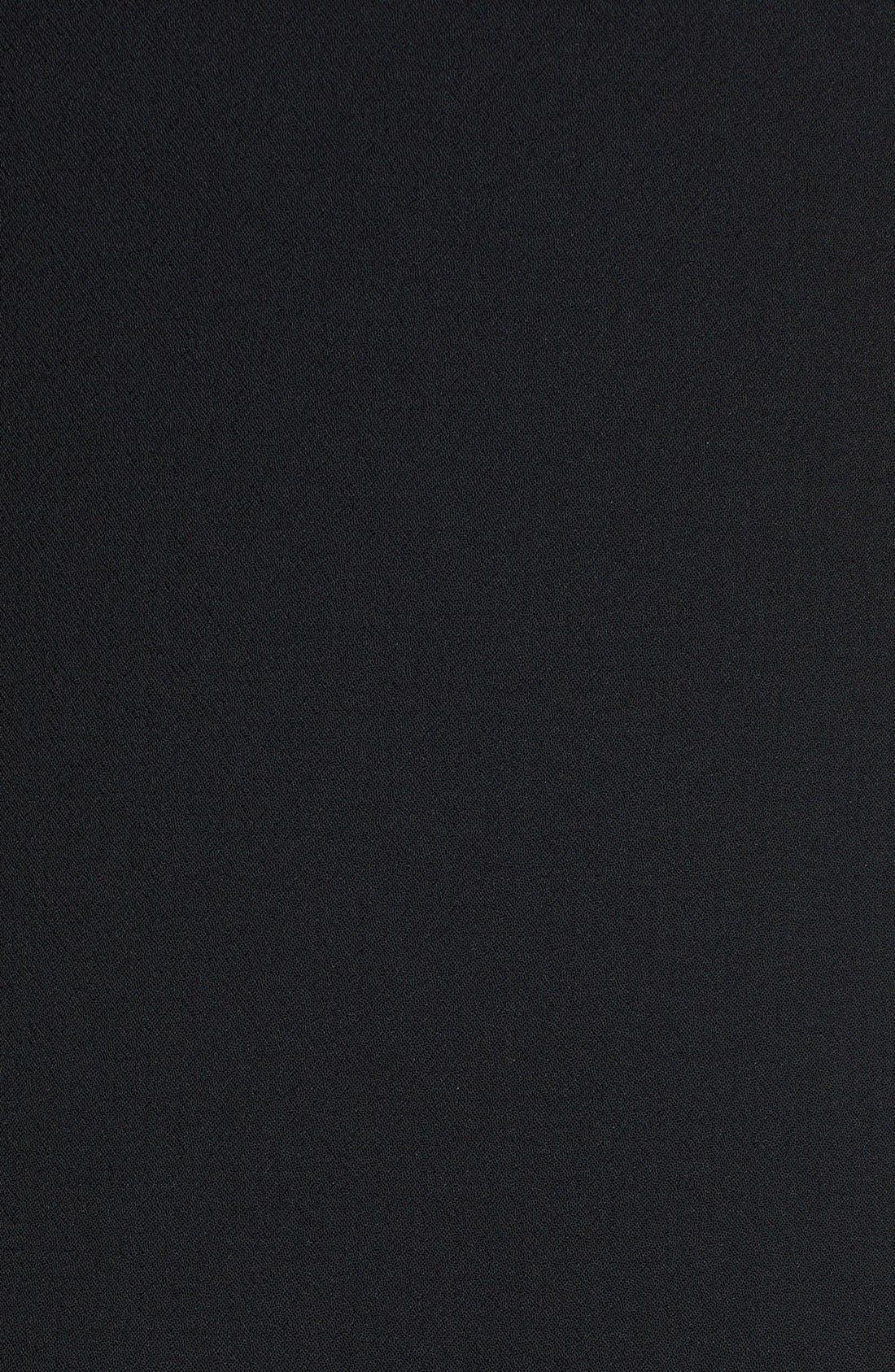 Alternate Image 3  - Trina Turk 'Doheny' Drop Waist Racerback Crepe Dress