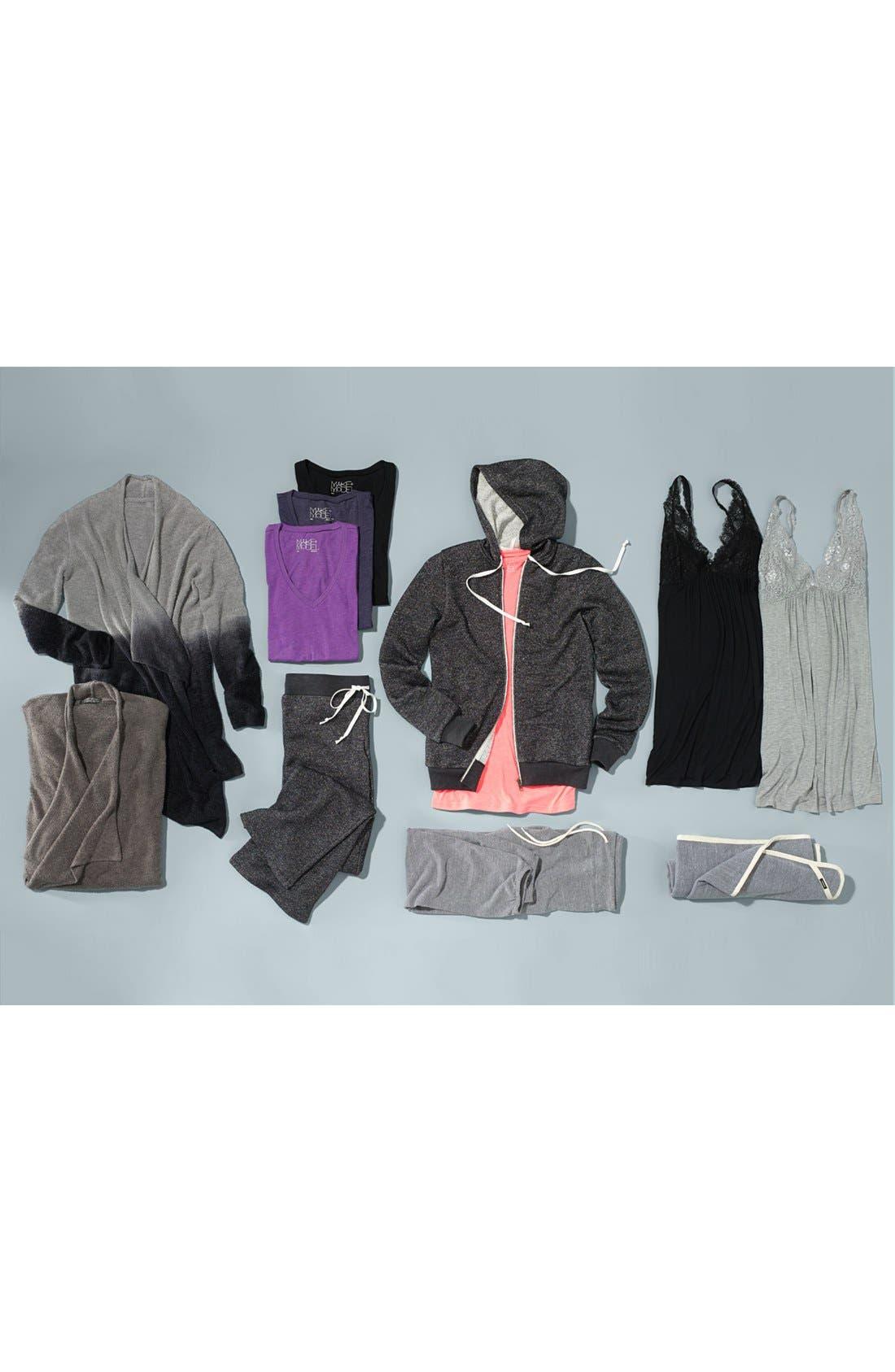 Alternate Image 5  - Monrow Vintage Granite Jersey Sweatpants