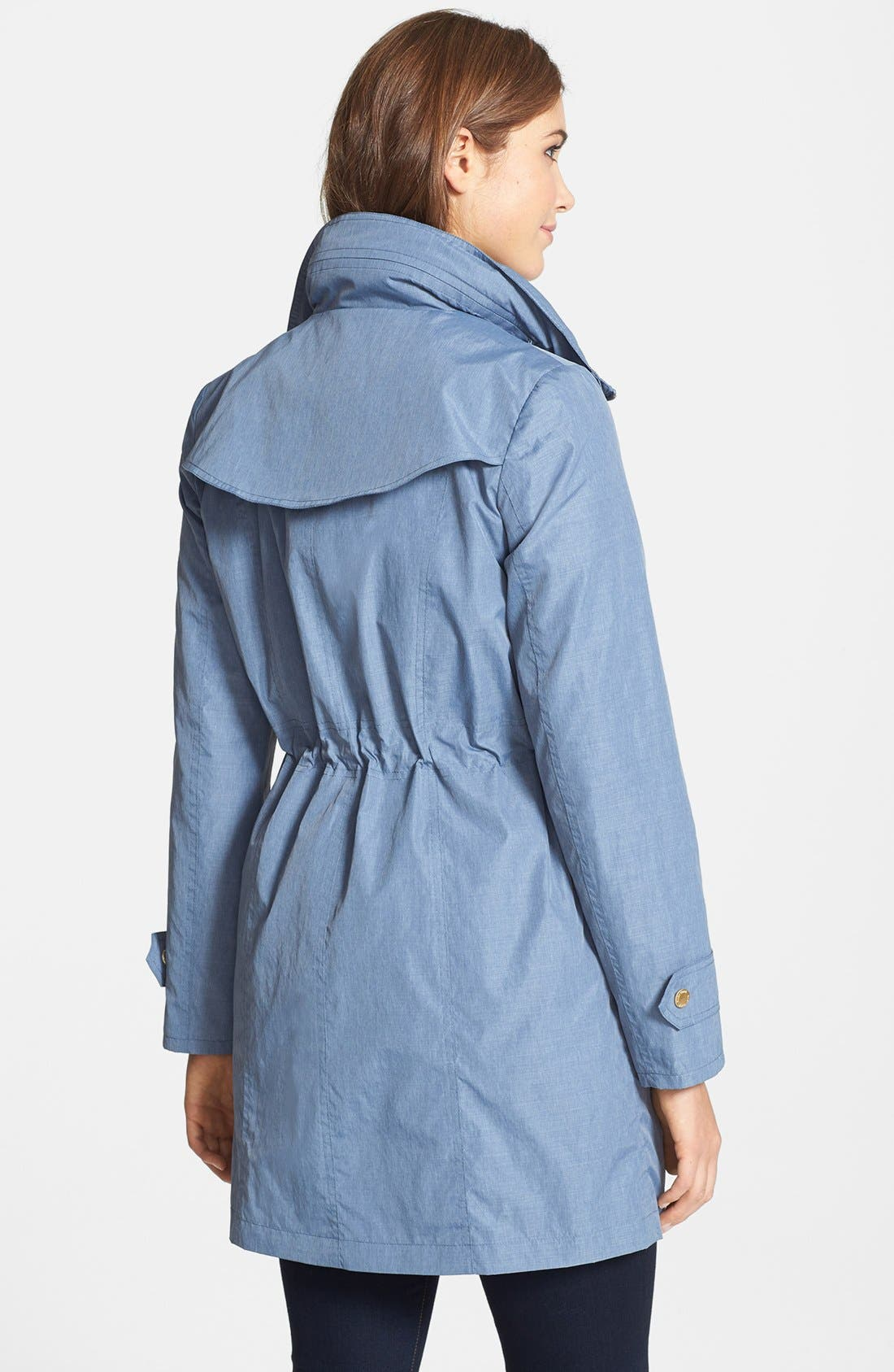Alternate Image 2  - Ellen Tracy Fly Front Anorak (Online Only)