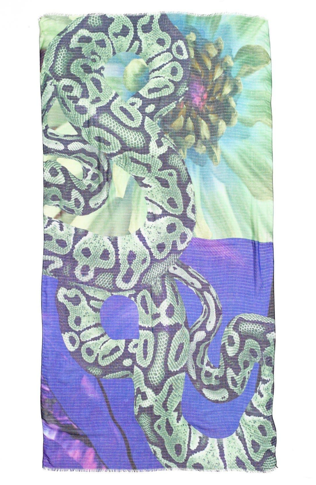 Alternate Image 2  - Echo 'Digital Jungle' Print Scarf