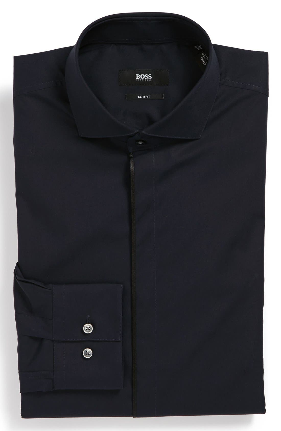 Alternate Image 1 Selected - BOSS HUGO BOSS 'Jamison' Slim Fit Dress Shirt