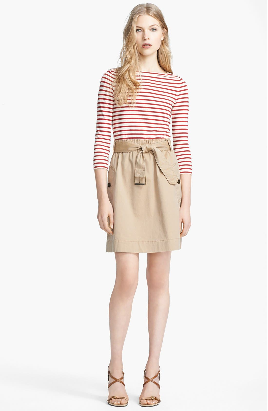 Main Image - Burberry Brit 'Jodie' Belted Dress