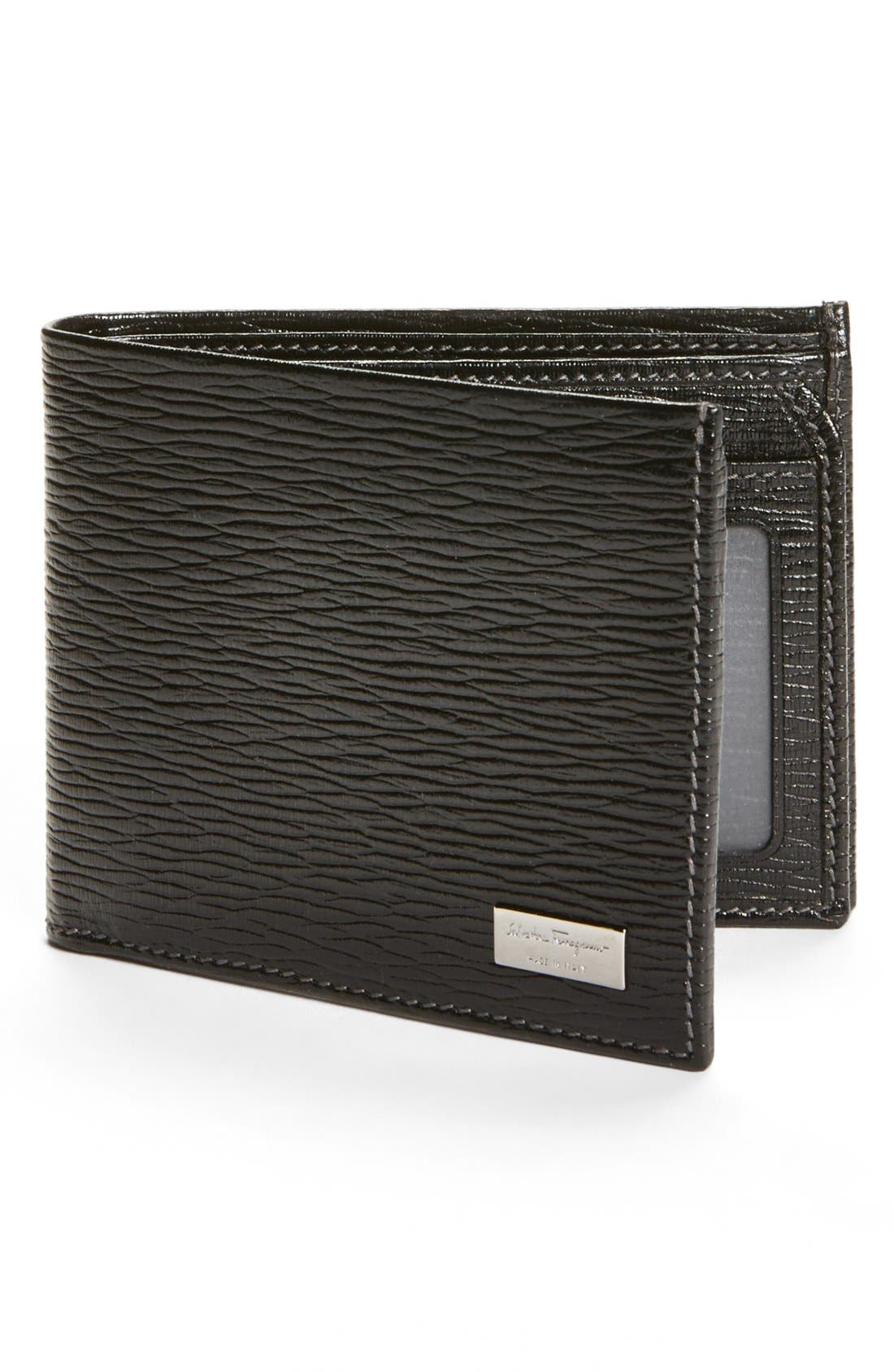 Alternate Image 1 Selected - Salvatore Ferragamo Stamped Calf Wallet