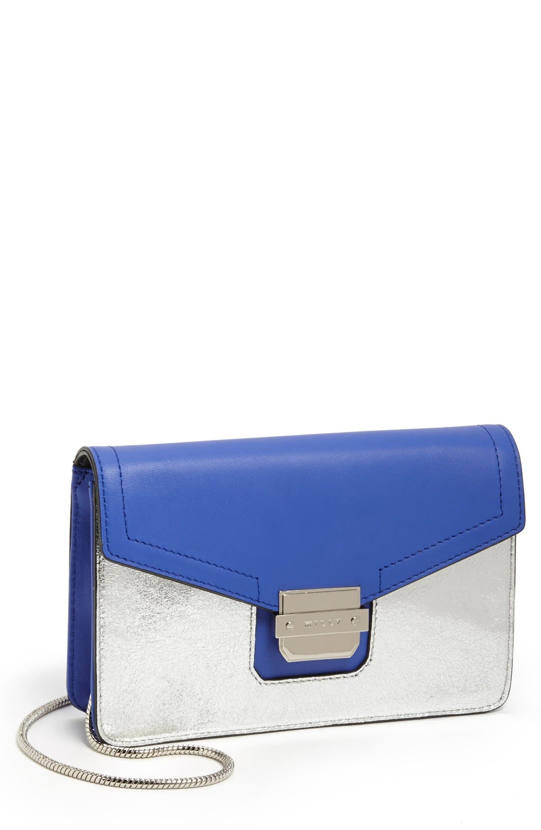 Main Image - Milly 'Colby - Mini' Leather Crossbody Bag