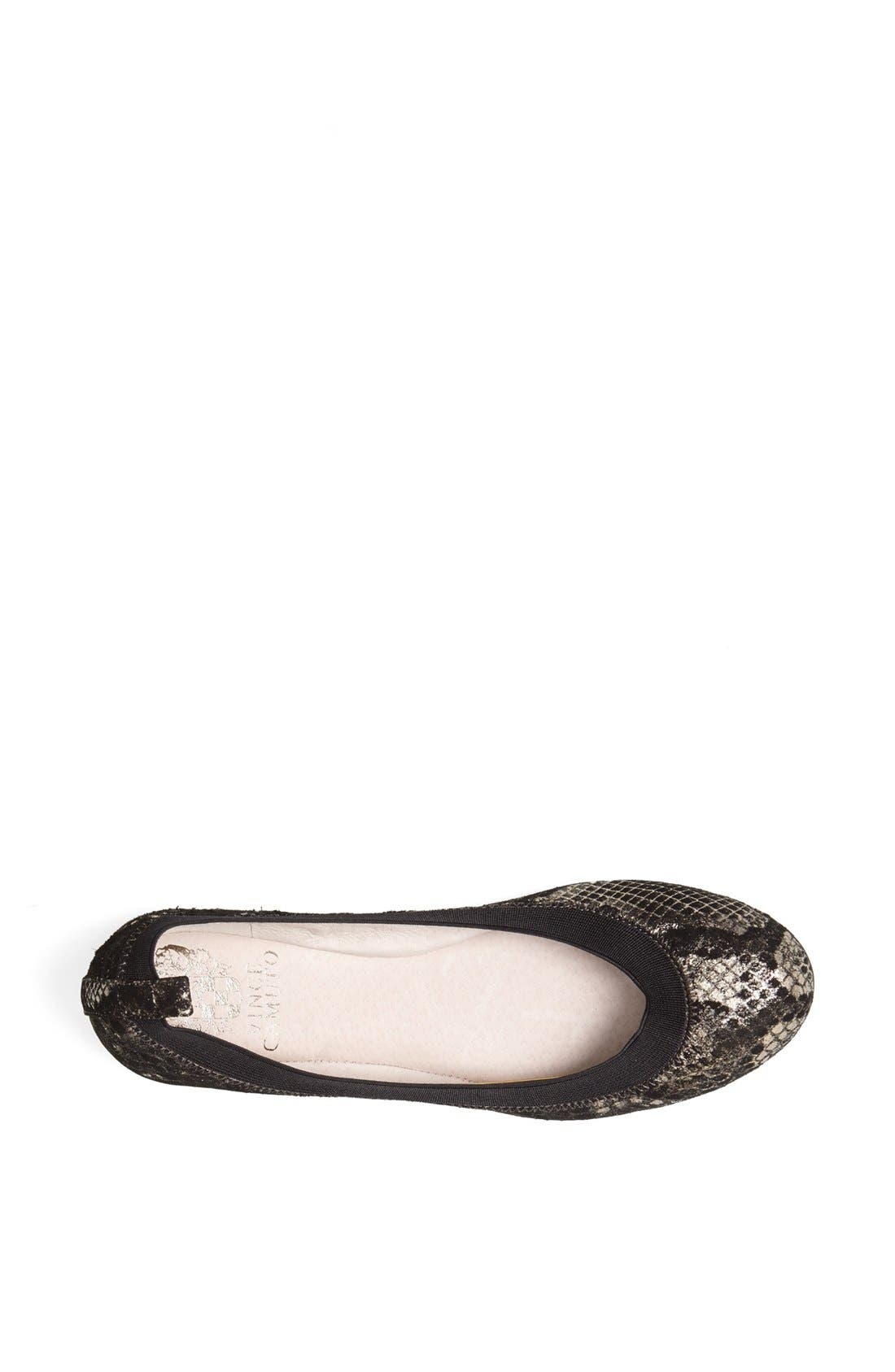 Alternate Image 3  - Vince Camuto 'Jorra' Leather Flat