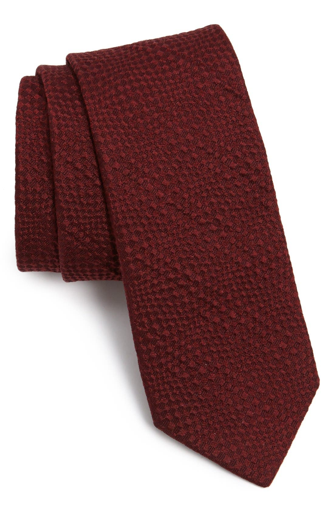 Alternate Image 1 Selected - Lanvin Textured Woven Tie