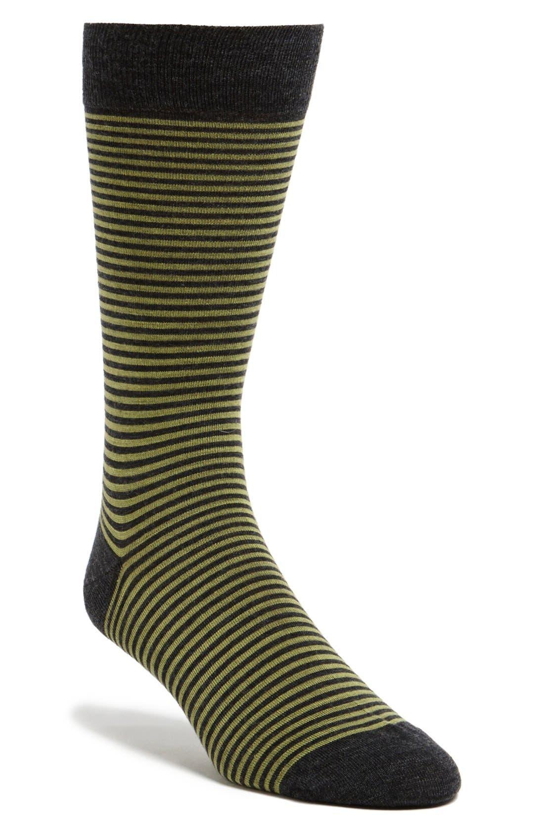 Alternate Image 1 Selected - Pantherella 'Whitechapel' Stripe Socks
