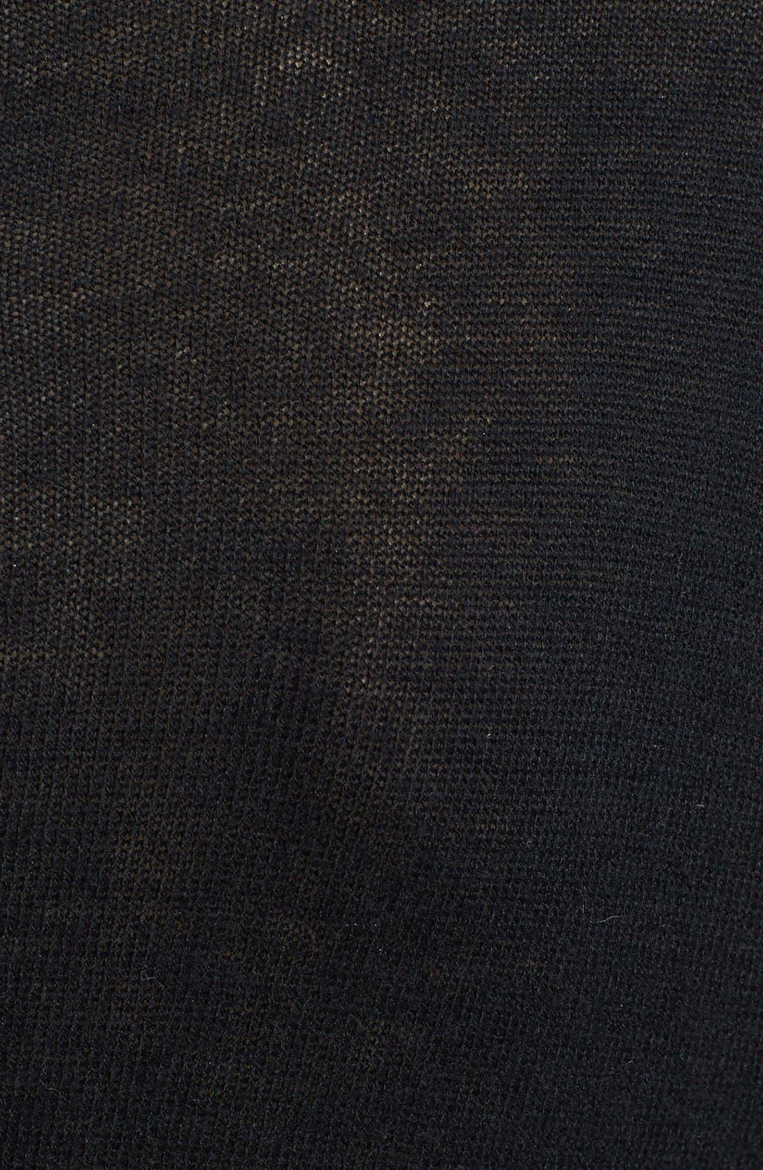 Alternate Image 3  - kensie 'Skull' Fine Gauge Sweater