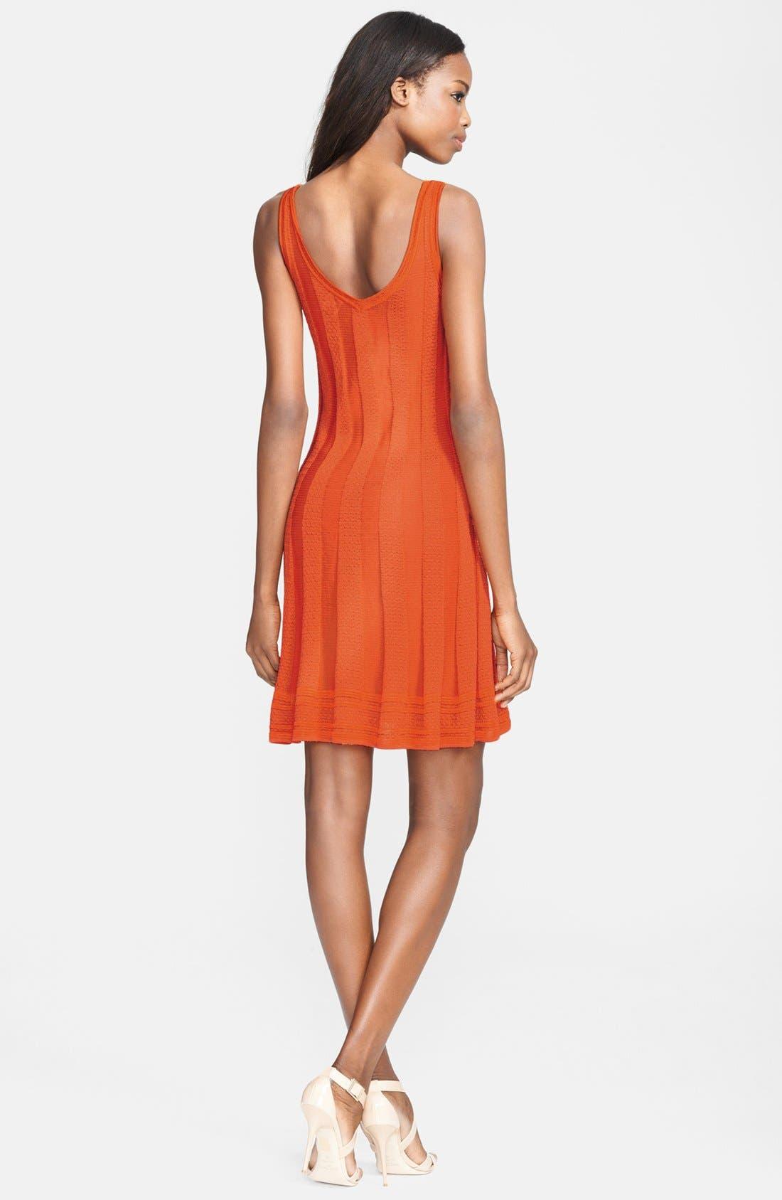 Alternate Image 2  - M Missoni Sleeveless V-Neck Knit Dress