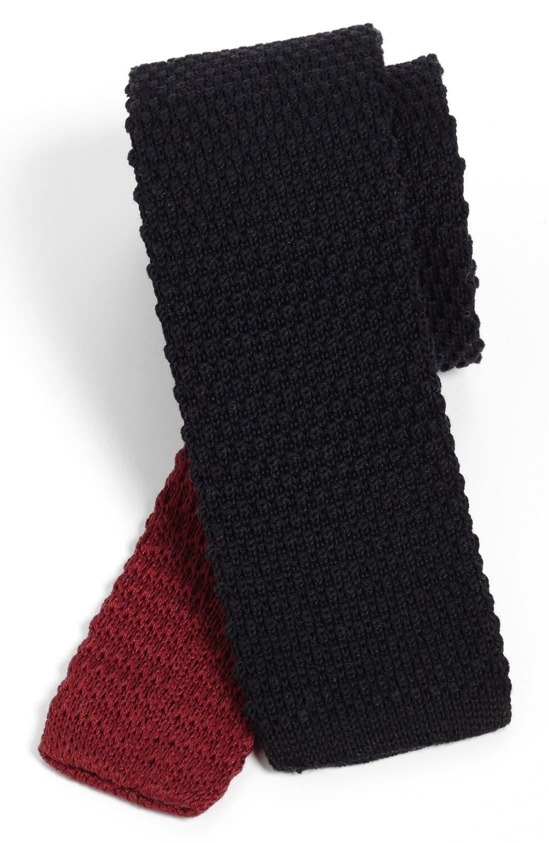 1901 Skinny Knit Tie