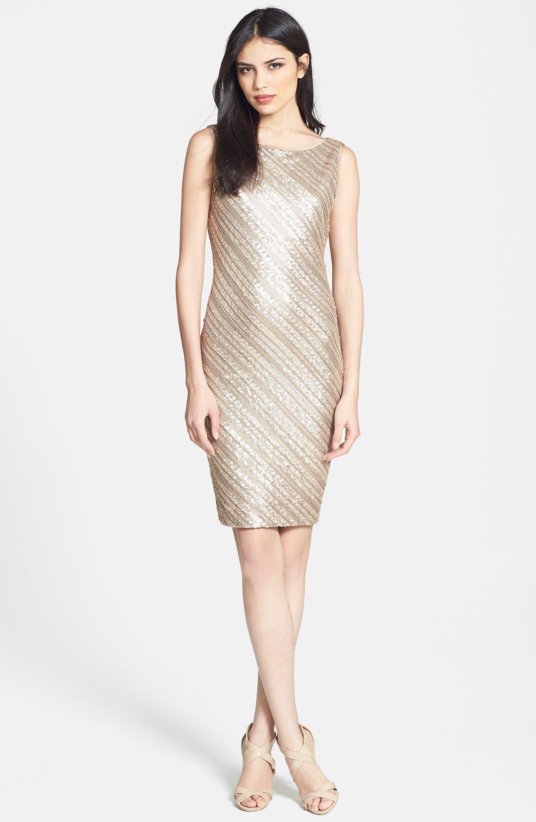 Alternate Image 1 Selected - Tart Sequin Jersey Sheath Dress