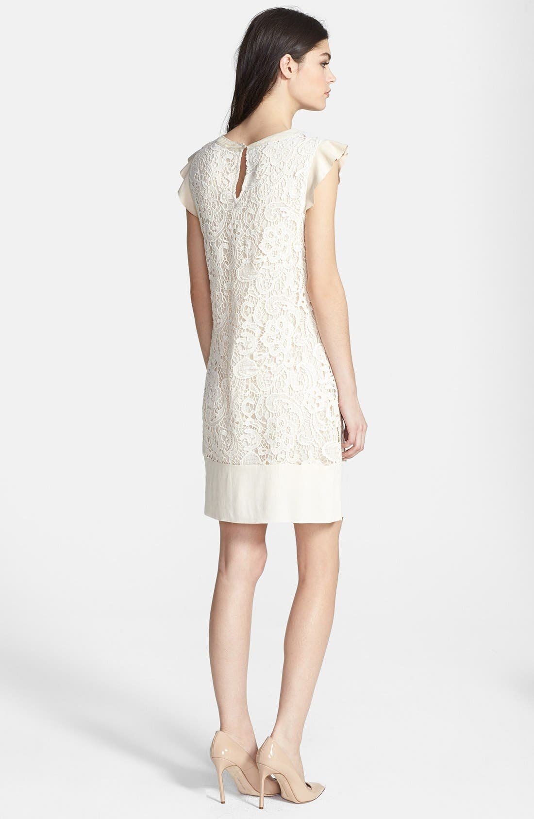 Alternate Image 2  - Ella Moss 'Jamie' Lace Shift Dress