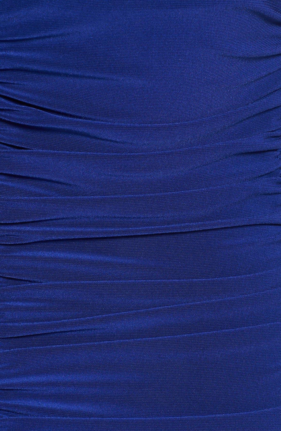 Alternate Image 4  - KAMALIKULTURE Ruched Jersey Sheath Dress