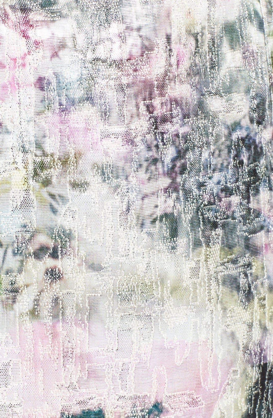 Alternate Image 4  - Maggy London Print Brocade Sheath Dress