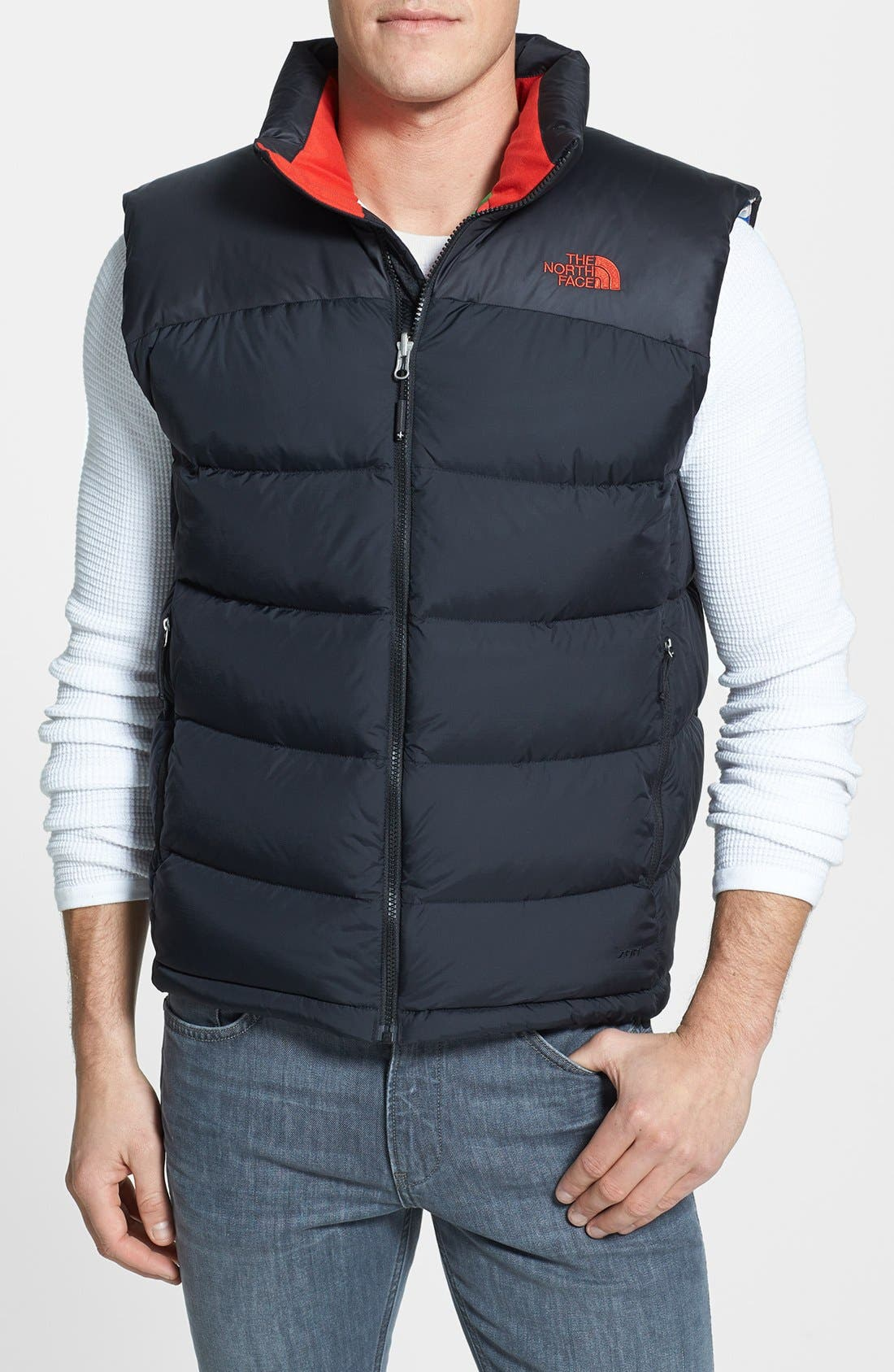 Main Image - The North Face 'Nuptse' Colorblocked Down Vest