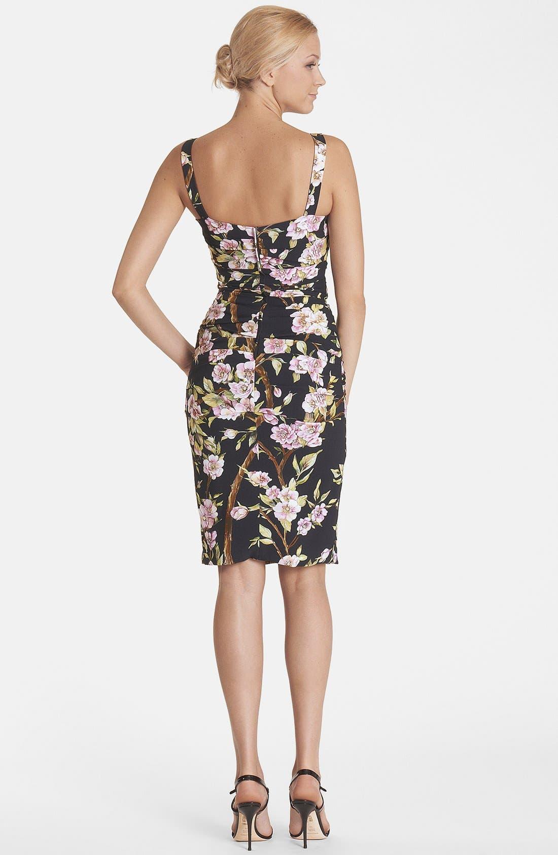 Alternate Image 2  - Dolce&Gabbana Ruched Tank Dress