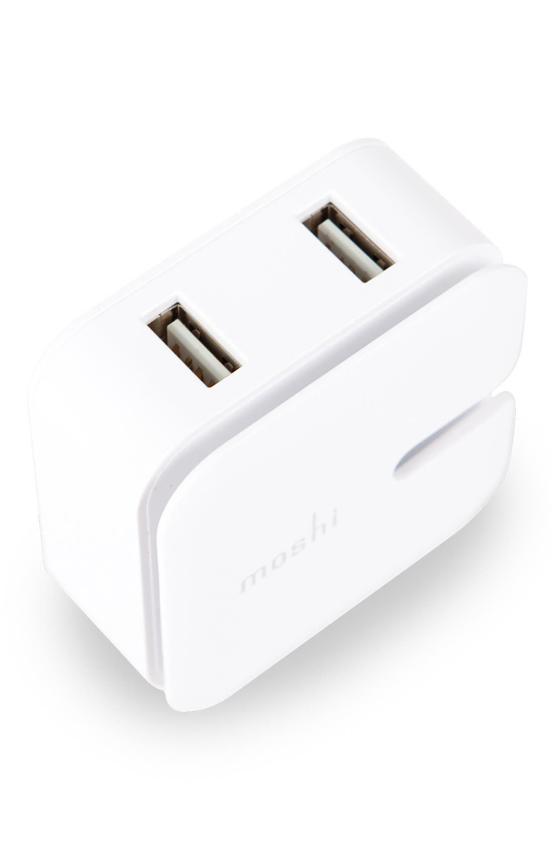 Alternate Image 2  - Moshi 'Rewind Duo' 10W USB Wall Charger