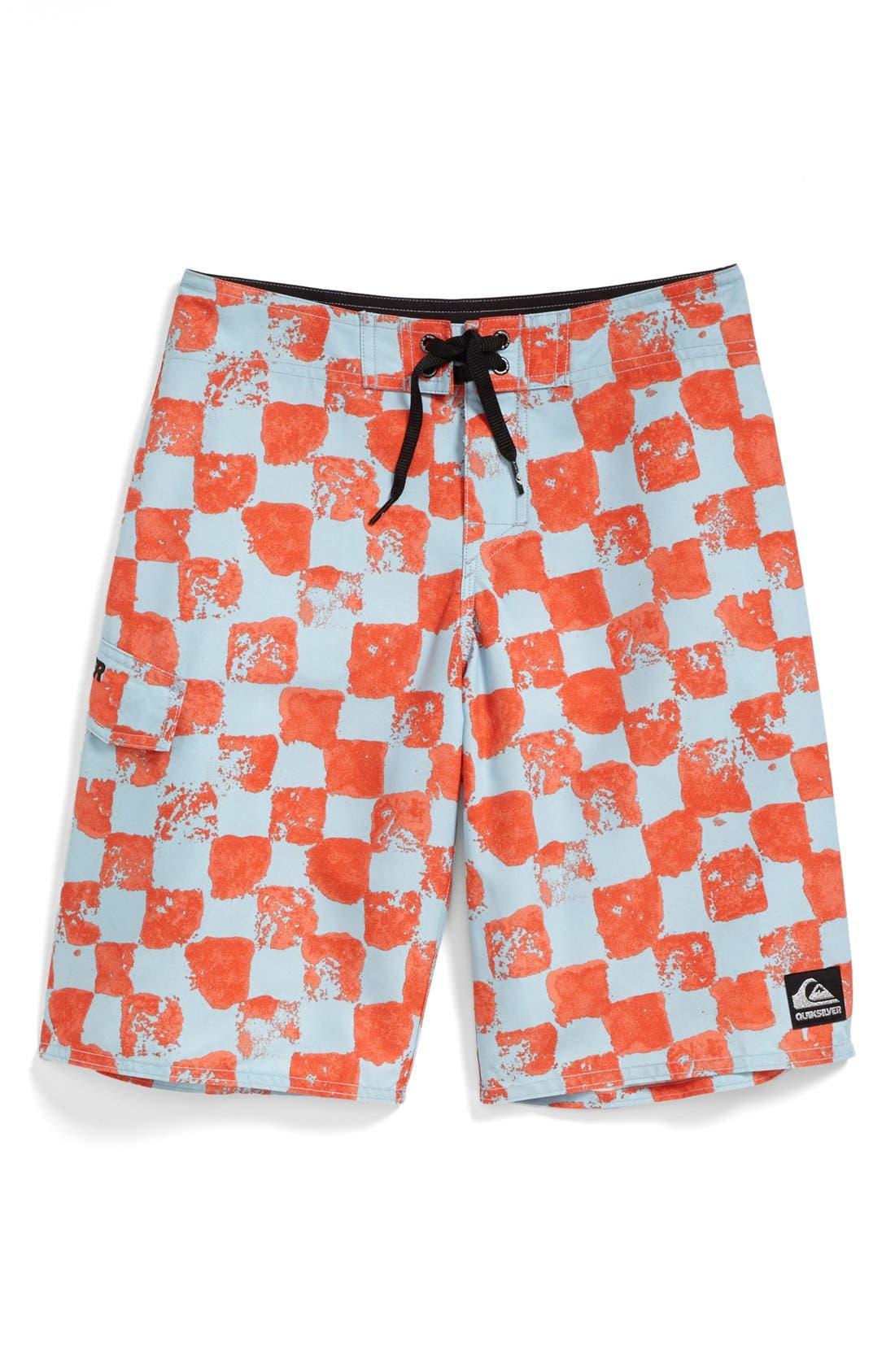 Alternate Image 1 Selected - Quiksilver 'Magic Palm' Board Shorts (Big Boys)