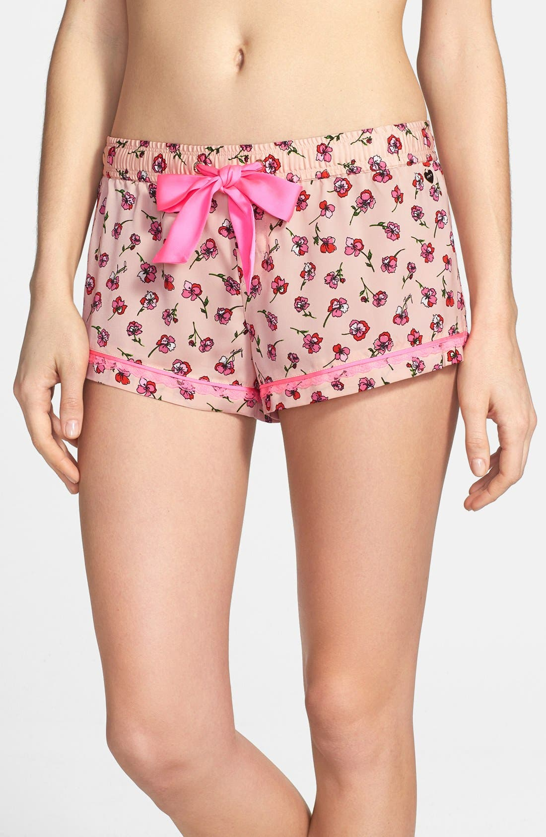 Alternate Image 1 Selected - Juicy Couture 'Frolic' Floral Shorts