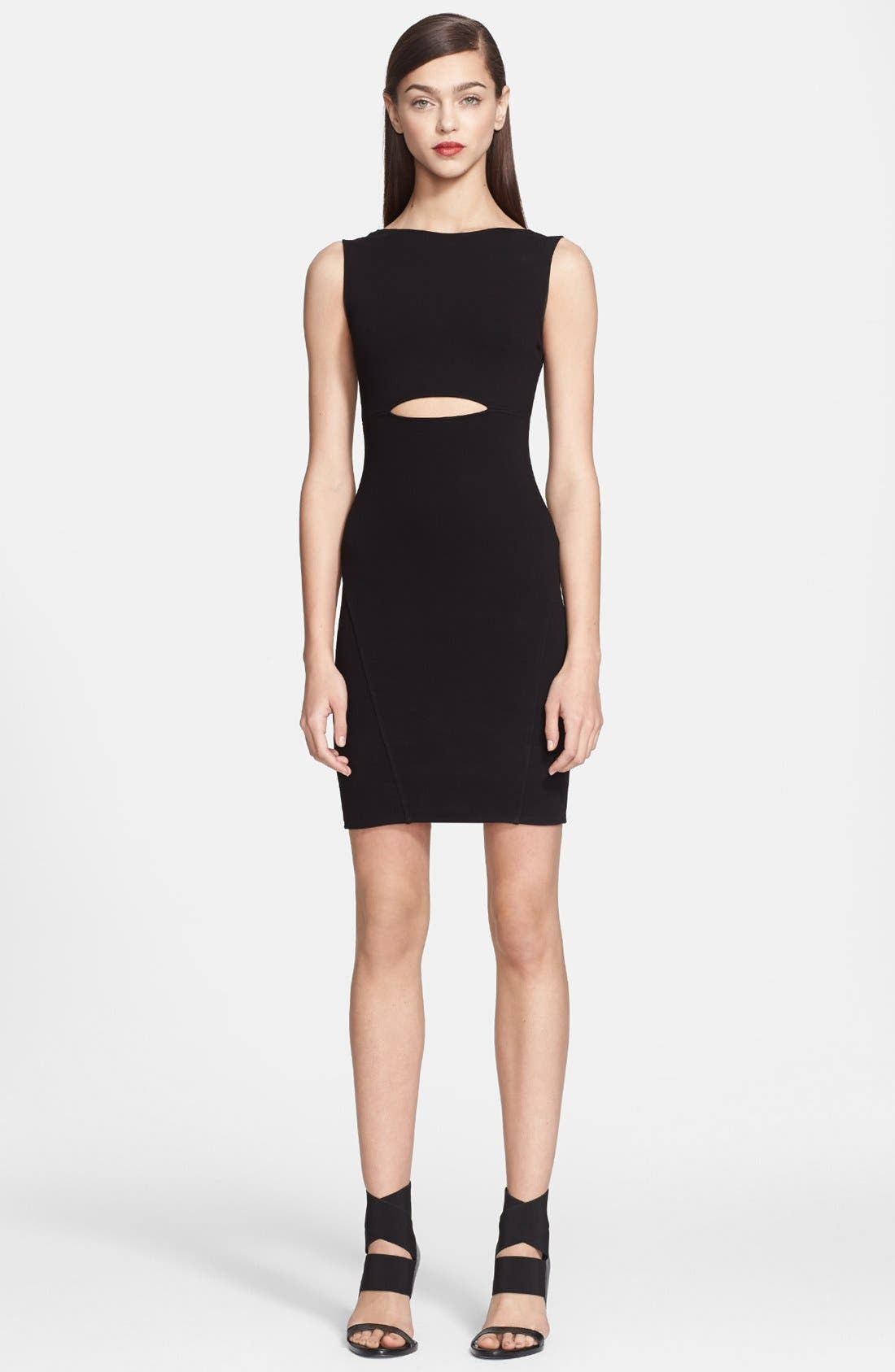 Alternate Image 1 Selected - Helmut Lang 'Gala' Knit Dress