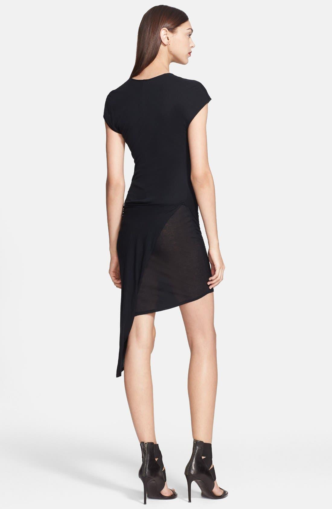 Alternate Image 2  - Helmut Lang Side Detail Jersey Dress