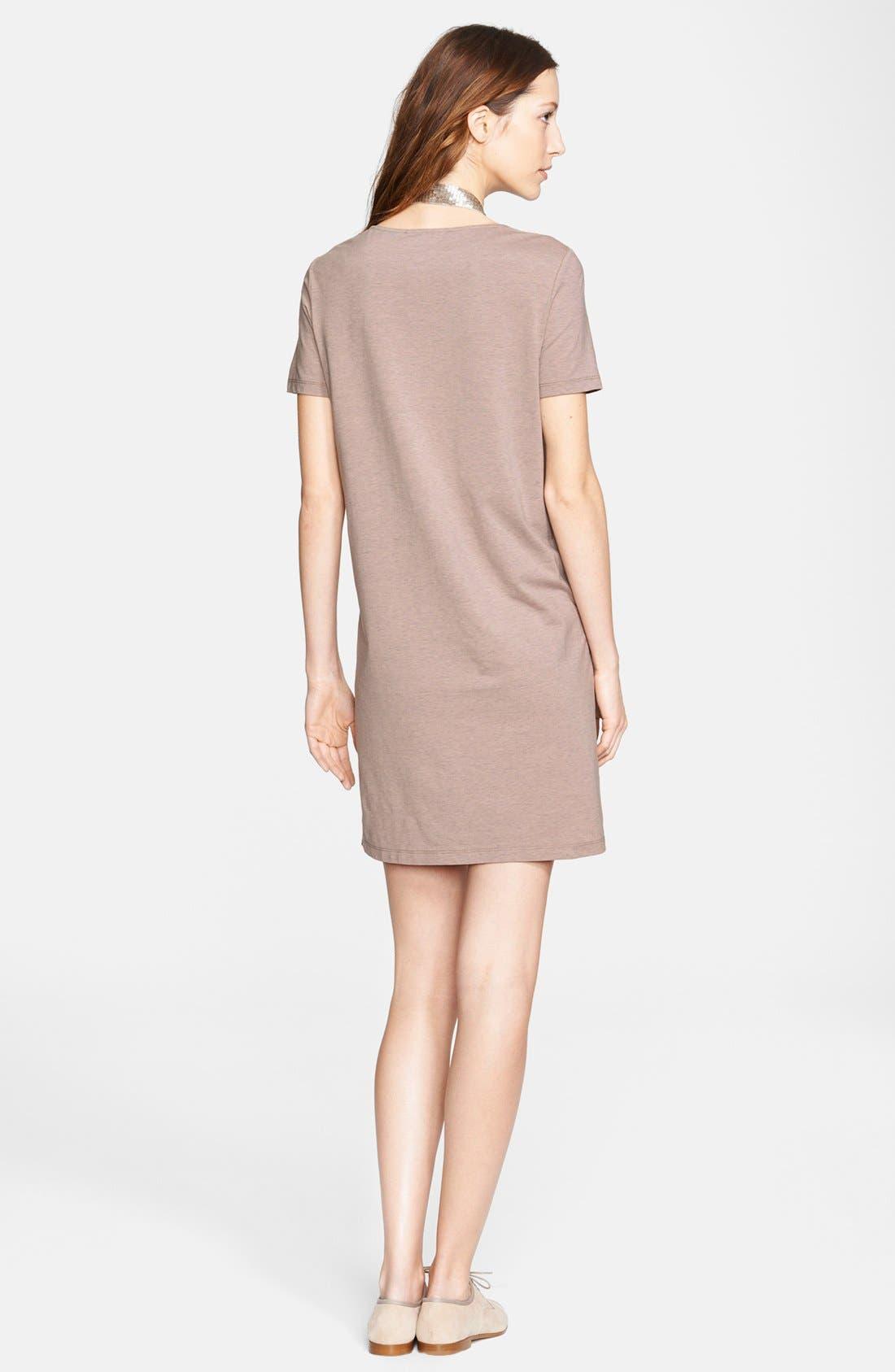 Alternate Image 2  - Fabiana Filippi Tiered Jersey, Crepe & Charmeuse Dress
