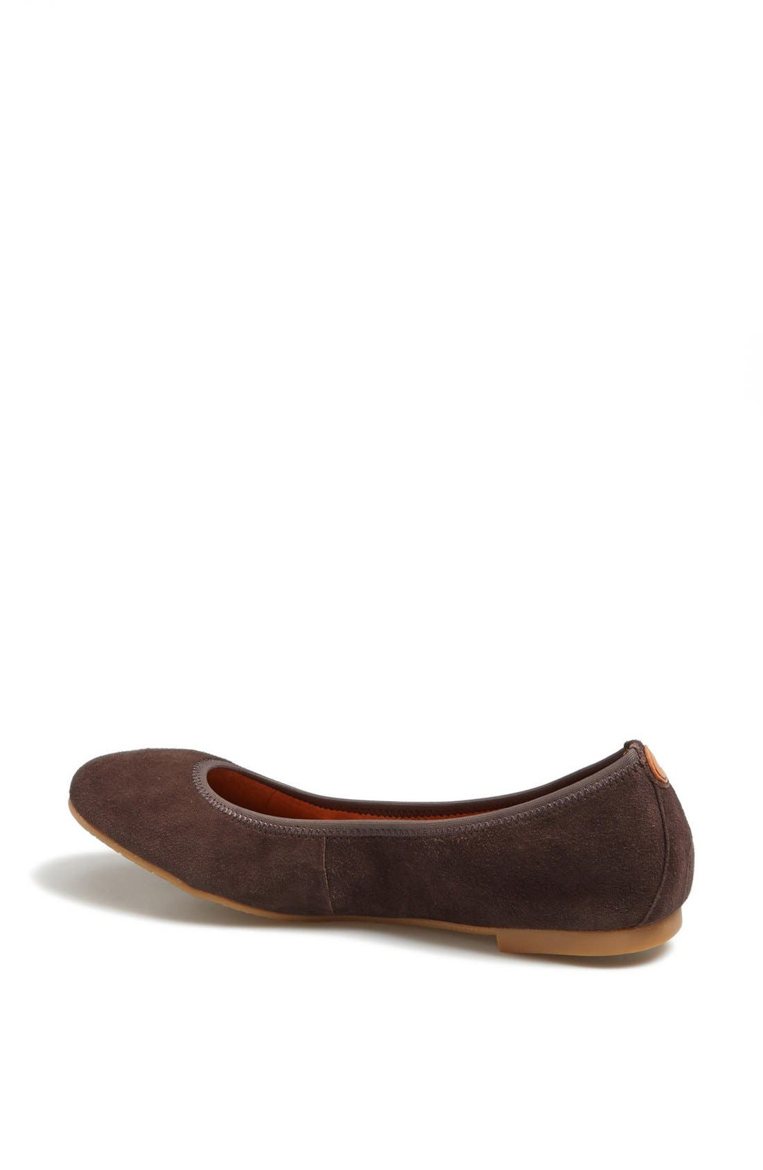 Alternate Image 2  - Juil 'The Flat' Earthing Suede Ballet Flat
