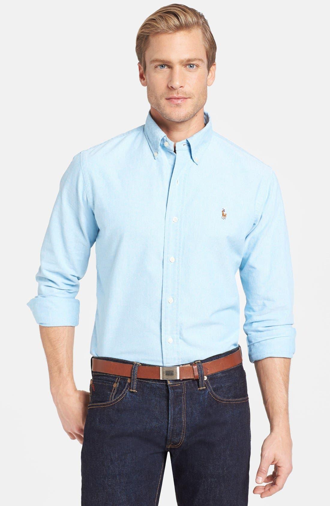 Main Image - Polo Ralph Lauren Slim Fit Oxford Sport Shirt
