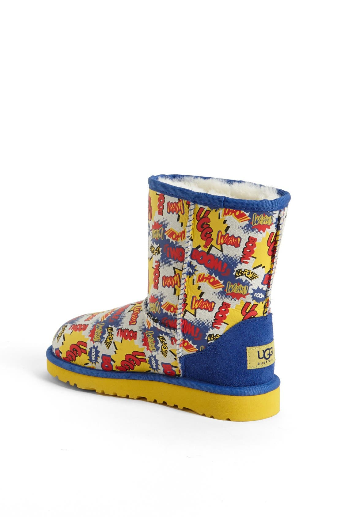 Alternate Image 2  - UGG® Australia 'Classic Short - Comic' Print Boot (Walker, Toddler, Little Kid & Big Kid)