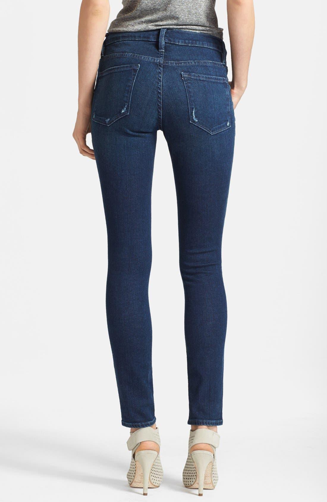 Alternate Image 2  - Frame Denim 'Le Skinny de Jeanne' Jeans (Runyon Canyon)