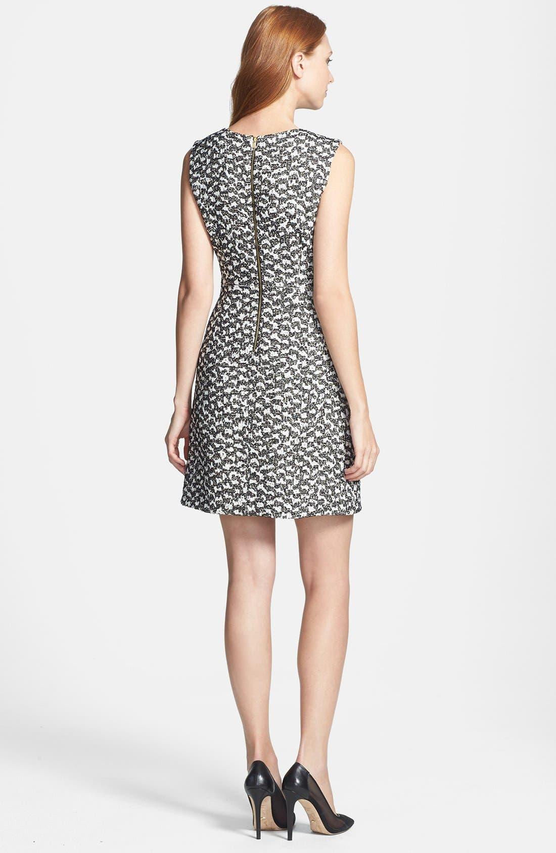 Alternate Image 2  - Diane von Furstenberg 'Yvette' Cotton Blend A-Line Dress