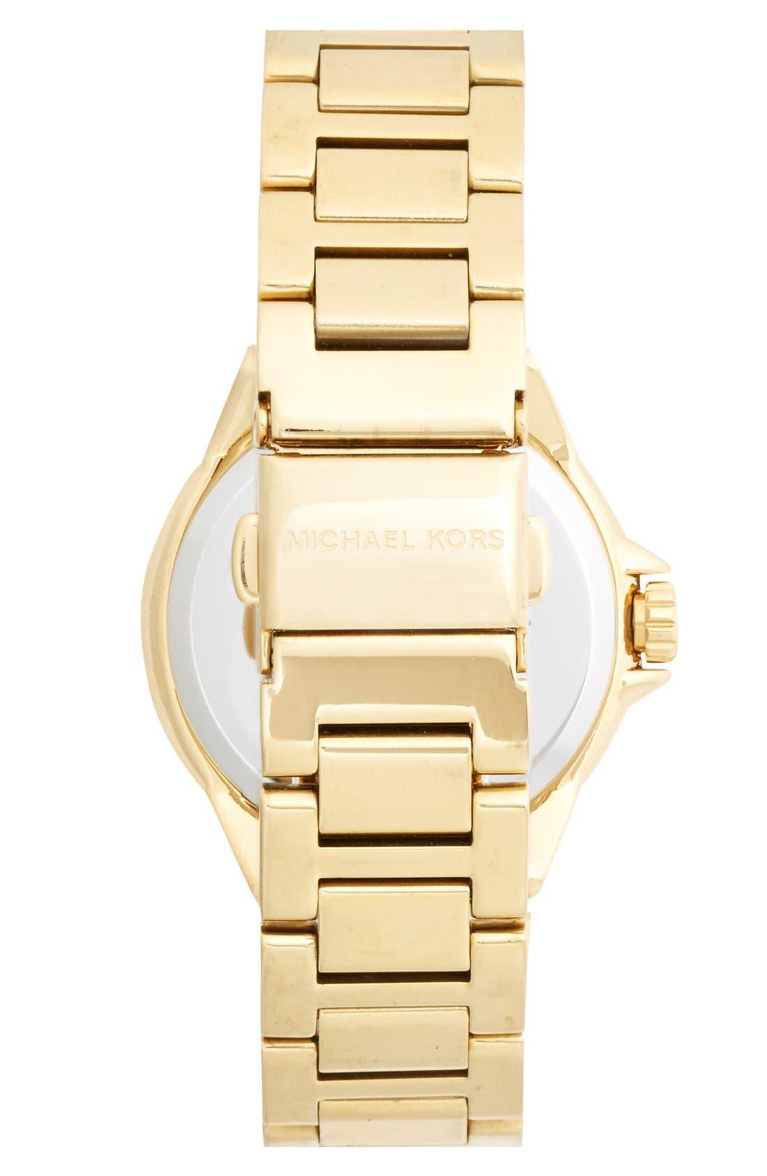 Alternate Image 2  - Michael Kors 'Petite Lexington' Bracelet Watch, 26mm
