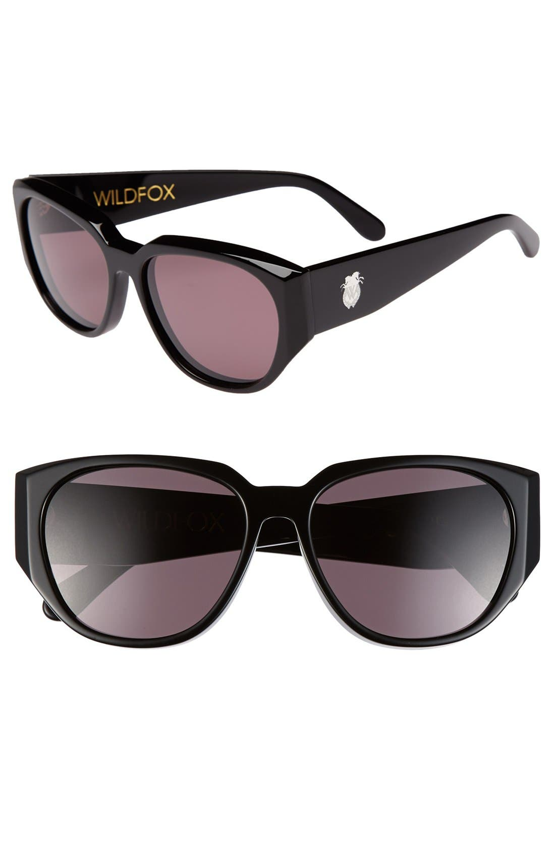 Main Image - Wildfox 'Dionne' 56mm Sunglasses