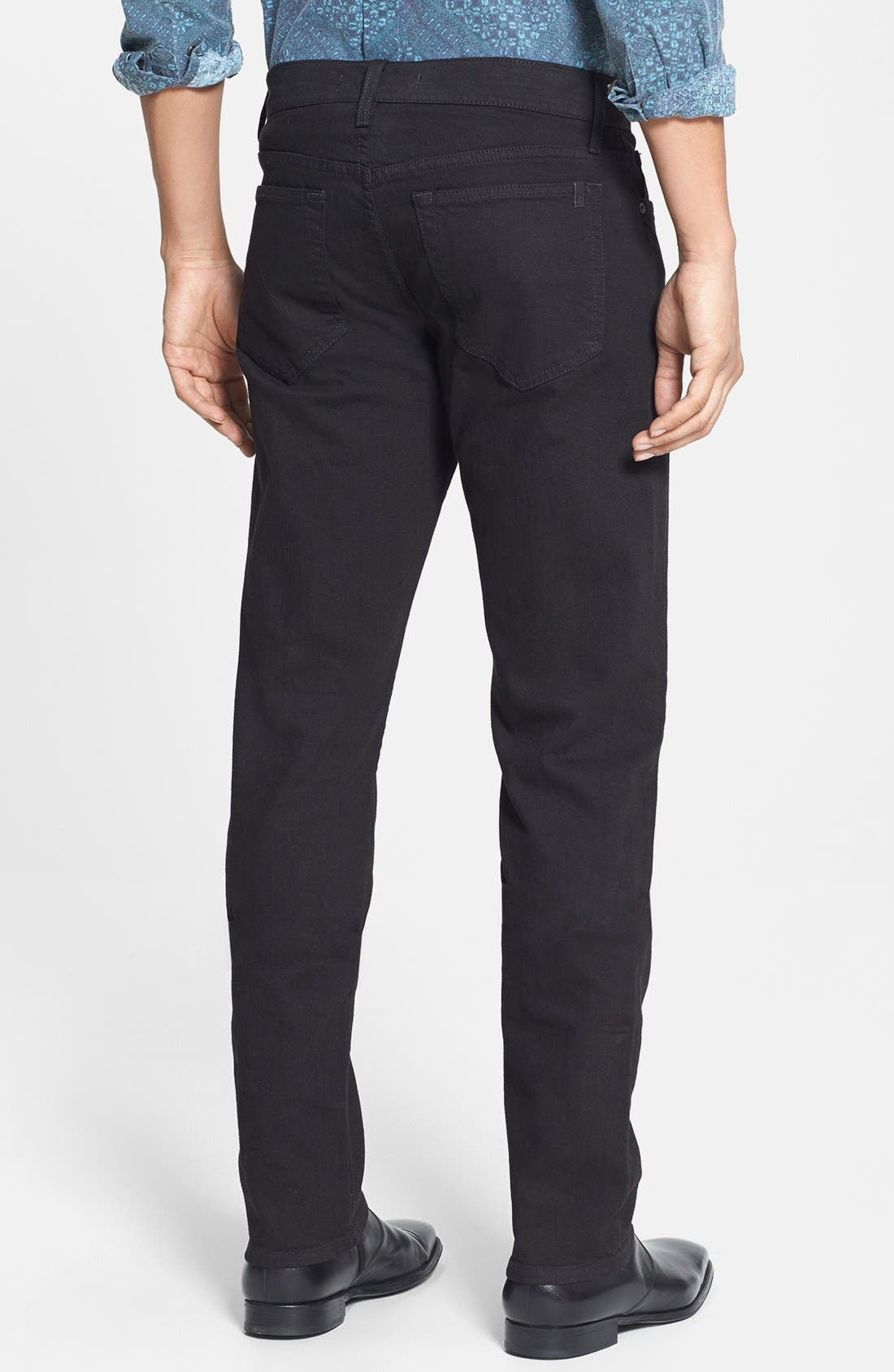 Alternate Image 2  - Joe's 'Brixton' Slim Fit Jeans (Jet Black)