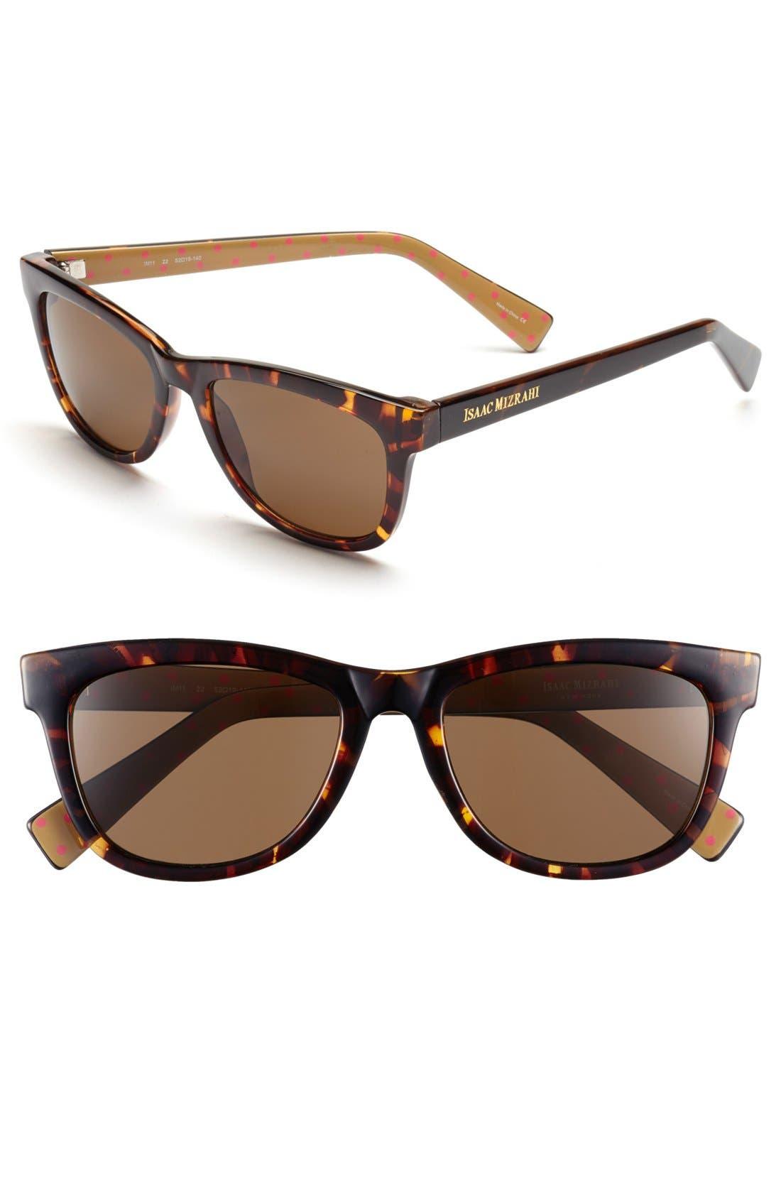Main Image - Isaac Mizrahi New York 52mm Retro Sunglasses