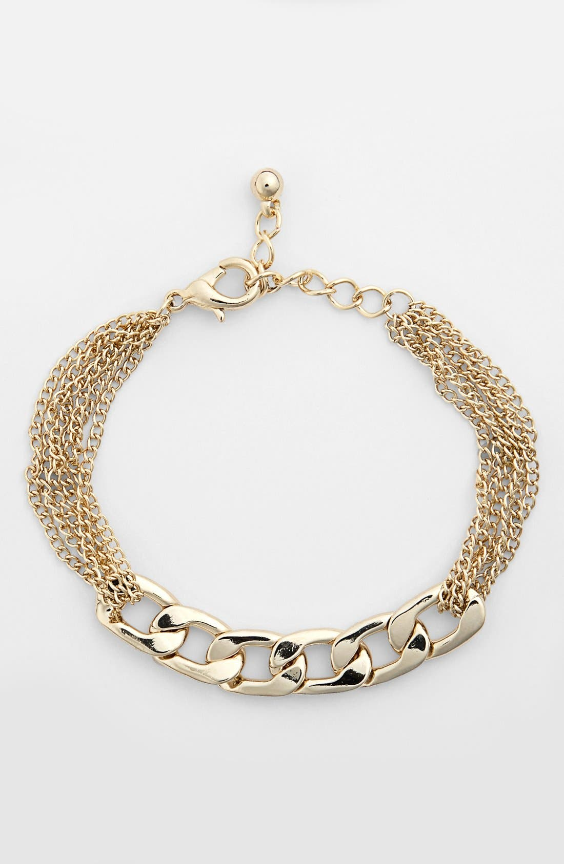 Main Image - Rachel Mixed Chain Bracelet (Juniors)