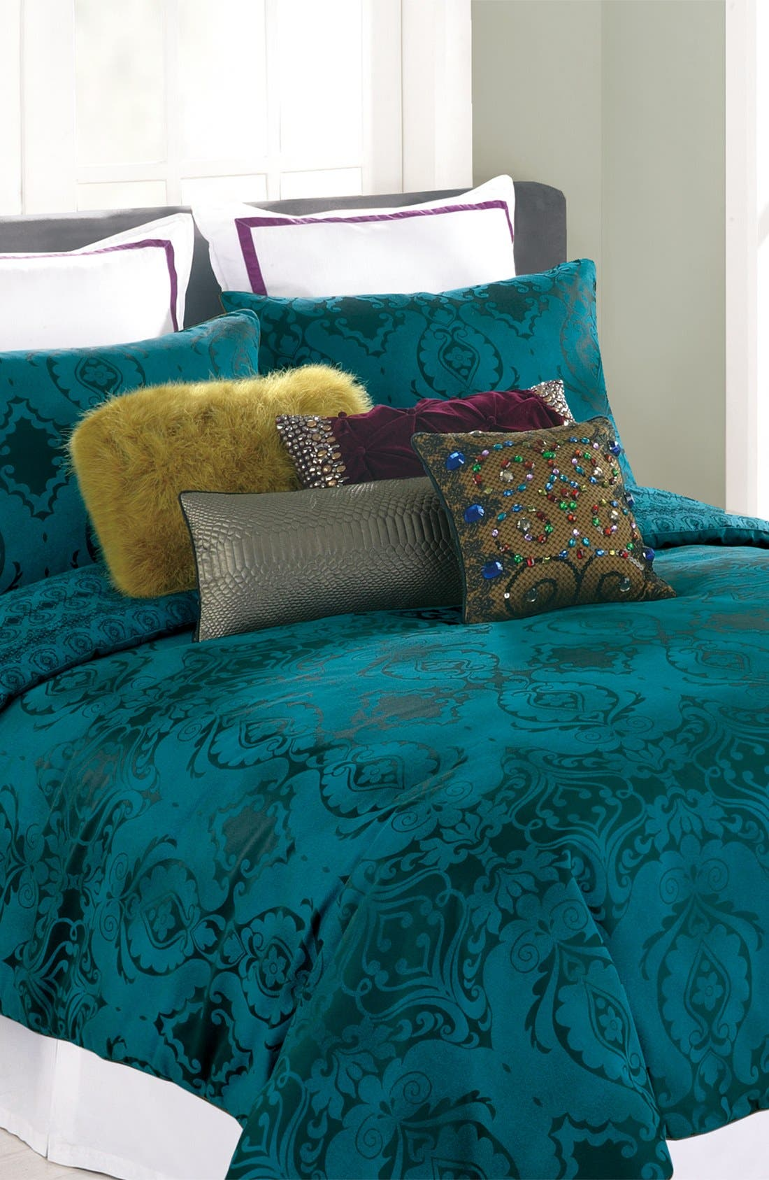 Alternate Image 1 Selected - Nanette Lepore Villa 'Baroque' Comforter & Shams